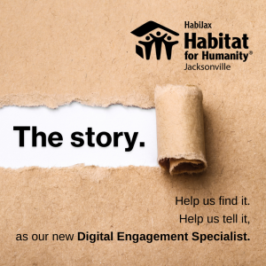 We are hiring a Digital Engagement Specialist!